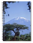 Mt. Kilimanjaro,moshi,tanzania Spiral Notebook