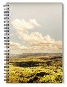 Mt Mee Vintage Landscape Spiral Notebook