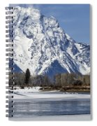Mt Moran From Oxbow Bend Spiral Notebook