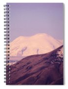 Mt Rainer From The Wenas Valley  Spiral Notebook