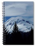 Mt Rainier Spiral Notebook