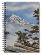 Mt. Rainier Landscape Spiral Notebook