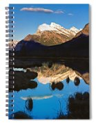 Mt Rundle Spiral Notebook