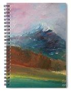 Mt Shasta 10 Spiral Notebook