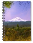 Mt. Shasta Spiral Notebook