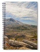 Mt St Helens Spiral Notebook