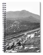 Mt Tam From The Tiburon Hills 1975 Spiral Notebook