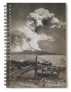 Mt. Vesuvius Erupting Spiral Notebook