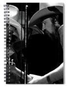 Mtb77#34 Enhanced Bw Spiral Notebook