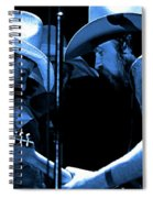Mtb77#34 Enhanced In Blue Spiral Notebook