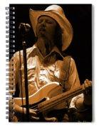 Mtb77#91 Enhanced In Amber Spiral Notebook