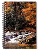 A Warm Fall Day Spiral Notebook