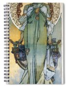 Mucha: Theatrical Poster Spiral Notebook