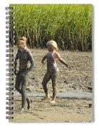 Mud Bath Spiral Notebook