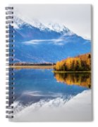Mudd Lake Reflections Spiral Notebook
