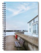 Mudeford - England Spiral Notebook
