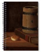 Mug Book Biscuits And Match Spiral Notebook