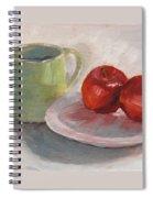 Mugging For Apples Spiral Notebook