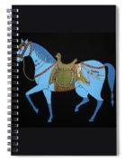 Mughal Horse Spiral Notebook
