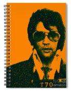 Mugshot Elvis Presley Spiral Notebook
