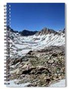 Muir Pass Panorama From High Above - John Muir Trail Spiral Notebook