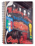 Mulberry Street Cigar Company Spiral Notebook