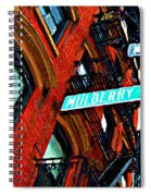Mulberry Street Sketch Spiral Notebook