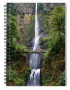 Multanomah Falls Spiral Notebook