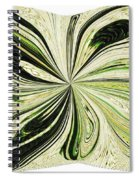 Multi-color Butterfly Pillow Spiral Notebook