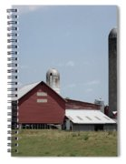 Multi Silo Farm Spiral Notebook