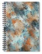 Multicolor Texture 001 Spiral Notebook