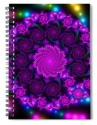 Multicolored Mosaica Spiral Notebook