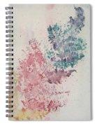 Multicolour Fern Spiral Notebook