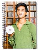Multimedia Buff Or Computer Geek Spiral Notebook