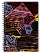 Multiverse II Spiral Notebook