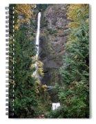 Multnomah Falls - 5 Spiral Notebook