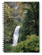 Multnomah Falls 3 Spiral Notebook