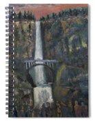 Multnomah Falls, Oregon Spiral Notebook