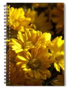 Mums And Shadows Spiral Notebook