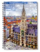 Munich Cityscape Spiral Notebook