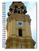 Munich Detail 17 Spiral Notebook