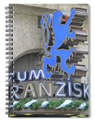Munich Detail 2 Spiral Notebook