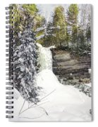 Munising Fall Upper Michigan Spiral Notebook