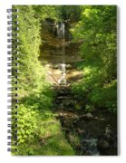Munising Falls Spiral Notebook