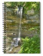 Munising Waterfall Spiral Notebook