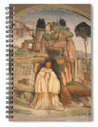 Mural Church Art Spiral Notebook