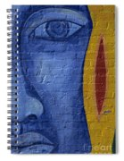 Mural Face Spiral Notebook