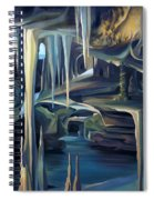 Mural Ice Monks In November Spiral Notebook