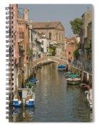 Murano Canal 4329 Spiral Notebook