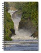 Murchison Falls, Uganda Spiral Notebook